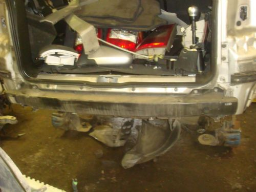 ZAFIRA A REAR CRASH BAR IN BLACK